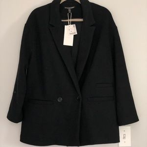 NWT Zara 2for40!! Overcoat W Medium
